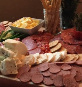 Farmers Board Cheese & Meat Platter - Christmas Party SONO