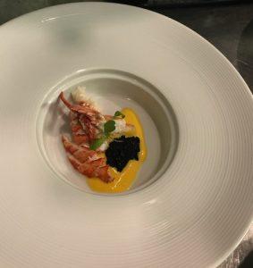 Lobster Mango Mousse & Caviar, Tasting Menu